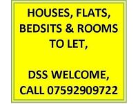 LARGE DOUBLE ROOM TO LET, OVER 35s ONLY