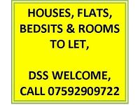 ** 2x LARGE BEDSIT TO LET** PRESTON NEW RD AREA