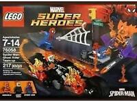 Lego 76058 spiderman Ghost Rider team up