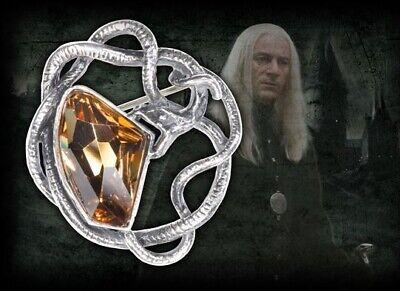 Lucius Malfoy Snake Brooch, Harry Potter, Slytherin, Wizarding World, Noble, HP, usado comprar usado  Enviando para Brazil