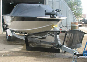The Bow Buddy Trailer Shield, is the ultimate boat protection