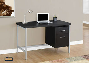 NEW ★ COMPUTER DESK ★ SILVER METAL ★ Can Deliver Kitchener / Waterloo Kitchener Area image 1