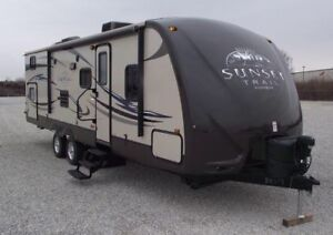 Sunset Trail ST29SS 30ft Travel Trailer 2012 with bunkhouse