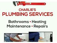 CHARLIES PLUMBING SERVICES - 20 YEARS EXPERIENCE - PLUMBER - FREE ESTIMATES -