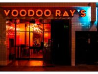 Pizza Chef wanted for Voodoo Ray's