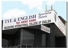 ENGLISH TEACHERS REQUIRED 2016 (PRIMARY + HIGH SCHOOL TUTORING) Glen Waverley Monash Area Preview