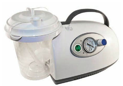 Roscoe Medical Lightweight Portable Suction Machine Aspirator W/ Battery 50006
