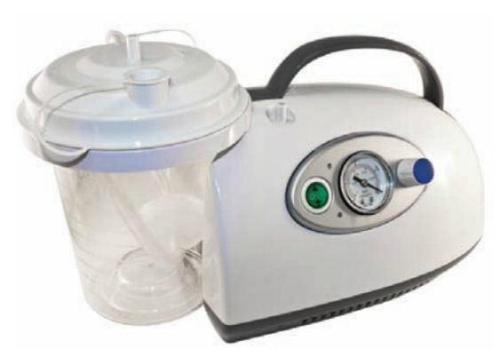 Roscoe Medical Lightweight Portable Suction Machine Aspirator 50004
