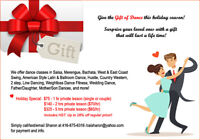 Give The Gift of Dance! Holiday Special for Salsa Latin, Swing..