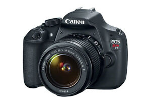CANON EOS REBEL T5 WITH EFS 18-55 IS LENS