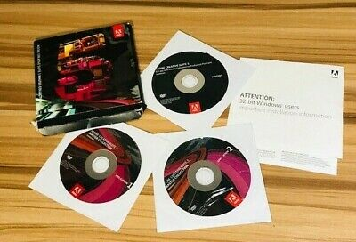 ADOBE CREATIVE SUITE 5 MASTER COLLECTION -- AS-IS/ READ FULL DESCRIPTION!