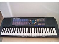 Yamaha Portatone Psr-180 Music Keyboard 61 Keys with Sony Model DR-9