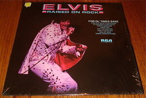 ELVIS-PRESLEY-Raised-On-Rock-Original-Orange-Label-Dynaflex-LP-Still-In-Shrink