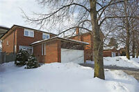 3 Bedroom Home for Lease/Rental - Close to YRT & GO Station