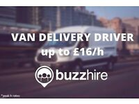 Flexible Van Delivery Driver - £16.0/h