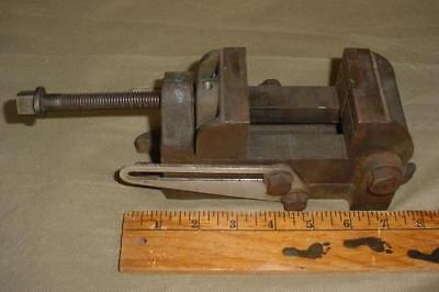 Vintage Craftsman 2-12 Jaw Angle Drill Press Vise Machinist Vice Old Stamp