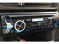 SONY MEX-N4000BT SINGLE DIN HEAD UNIT - NEARLY NEW!