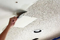 POPCORN CEILING REMOVAL , STUCCO REMOVAL