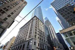 Fully Furnished, Junior One Bedroom Suite at 1 King St W!