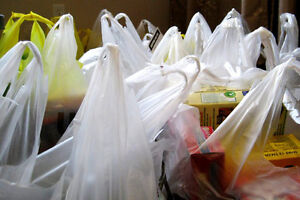 Plastic shopping bags needed