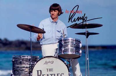 Ringo Starr Repro-Autogramm signed Preprint