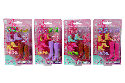 Simba 104660832 Steffi Love Shoe Fashion 4fach sortiert Schuhe für Puppen