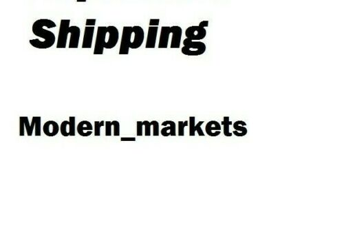 Shipping sur-charge for Modern_markets
