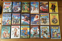 Kids DVDs $2 each or 3 for $5