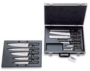 f dick bristol chef 39 s attache case knife set ebay. Black Bedroom Furniture Sets. Home Design Ideas