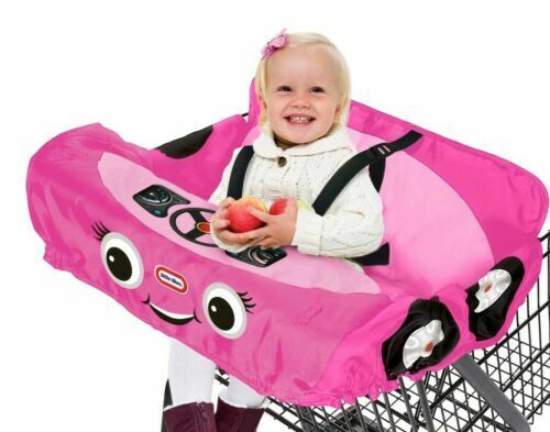 Little Tikes Shopping Cart & High Chair Cover-Pink Princess Cozy Coupe