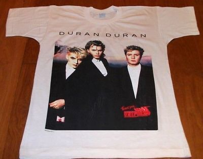 DURAN DURAN Strange Behavior Italy 87 Uniform (M) Official T Shirt GIFT IDEA 2 ()
