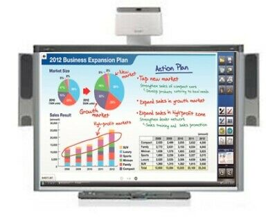 Interactive Smart Board Sbx885 And Smart Uf70w Projector