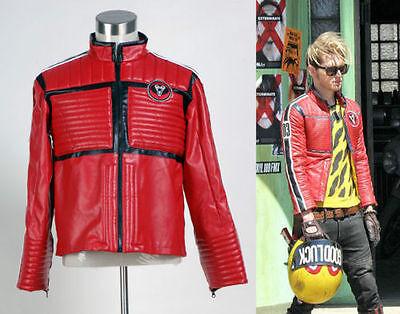 My Chemical Romance Na Na Na Kobra Kid Red Jacket Costume Cosplay Halloween