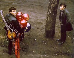 Beatles-Tony-Sheridan-Stuart-Sutcliffe-14-x-11-Photo-Print