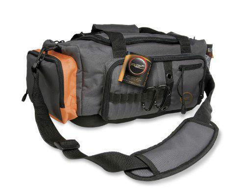 Fishing tackle box bag ebay for Spiderwire sling fishing backpack