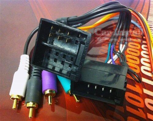 radio wiring land rover landrover radio wire harness install stereo plug 94 99 ebay  radio wire harness install stereo plug