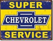 Antique Chevrolet Sign