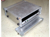 Flight Case for your equipment 19 Rack x 4 u Solid Construction Quality