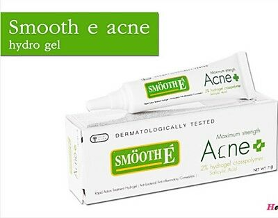 Smooth E Acne Hydrogel 2%  Cream Best Rapid  Acne Treatment Face Skin Care 7