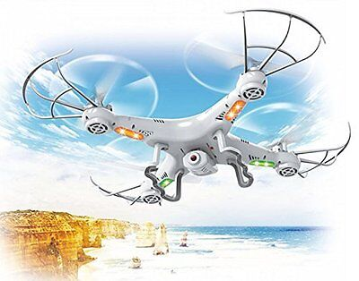 TODAY ONLY!! TAKE ANOTHER 20%! 4-Channel QuadCopter Drone with HD Camera, UK RC