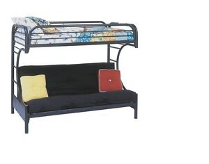 Monarch, Bruce, Twin Over Futon Bunk Bed