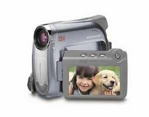 Canon ZR500 MiniDV Camcorder with 25x Optical Zoom
