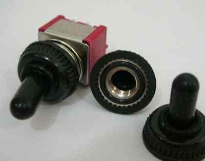 3 Miniature Mini Toggle Switch Waterproof Covercap31s
