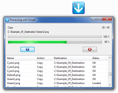 DropIt (Automate Processing & Organizing Files and Folders) Windows CD