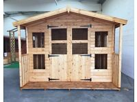 Shed Heads- Custom made sheds and summerhouse, any size made