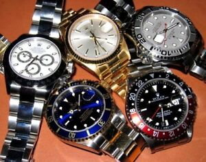 $$$$$$ WE BUY WATCHES, GOLD, SILVER, ACHETONS, MONTRES, BIJOUX