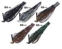 Osp Jig Zeroone Strong Gr 11 Colore Gs-11 Skirt Lungo Black Bass -  - ebay.it