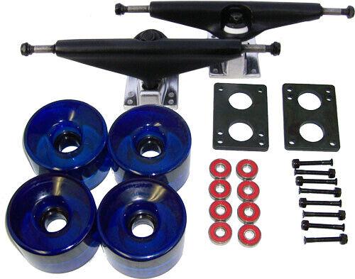 LONGBOARD Skateboard 9.75 in TRUCKS 70mm WHEELS COMBO