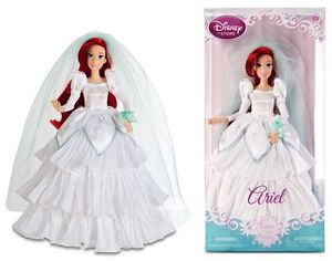 ISO. Ariel Wedding The Little Mermaid Doll