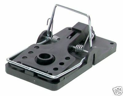 6 Big Snap E Rat Size Traps Rodent Control Easy Set Trap by KNESS USA